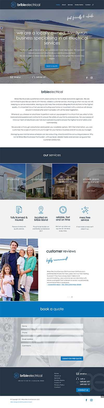 Bribie-Electrical-Services-Website-Design---electricians-web-design