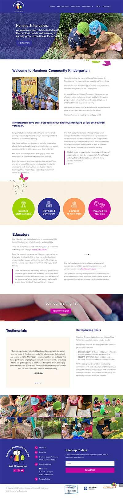 Kindergarten-Website-Designs-Brisbane-and-Sunshine-Coast