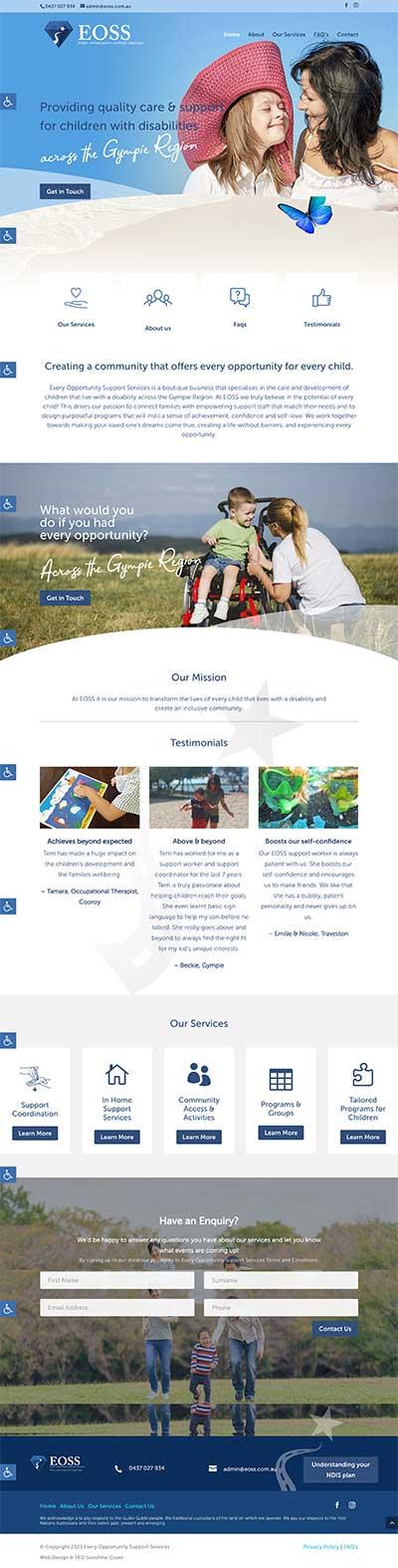 NDIS-websites-ndis-support-web-design Brisbane, Sydney, Melbourne Sunshine Coast