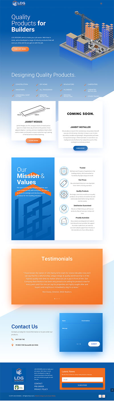 ldg designs - website designed by Suncoast Media
