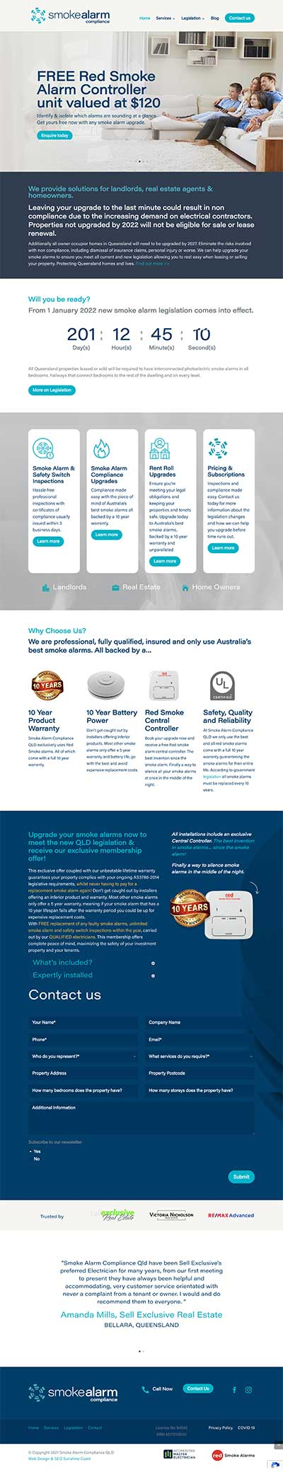 Smoke Alarm Website QLD Legislation Smoke Alarm Upgrade