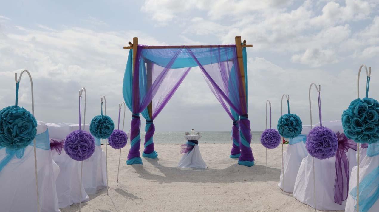 Teal And Purple Wedding Ideas