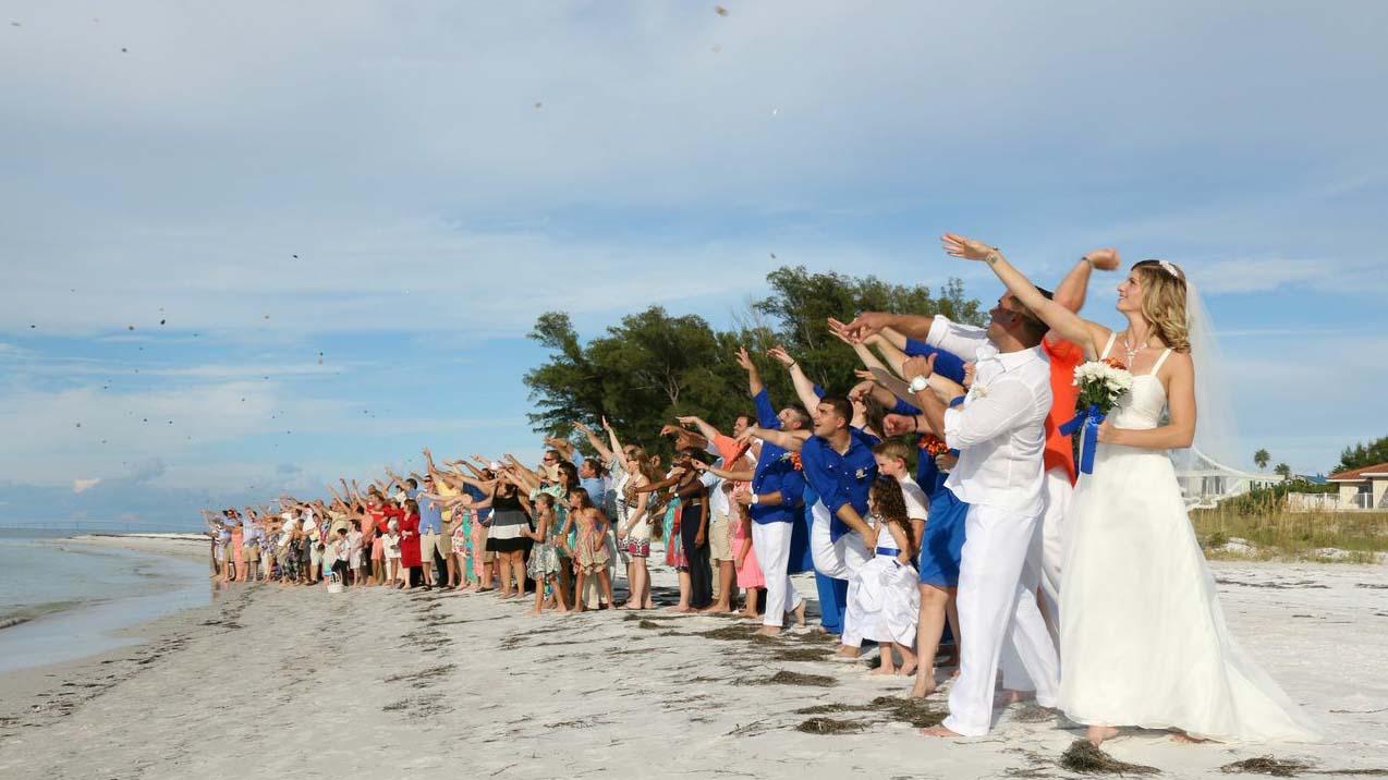 Beach Wedding 100 Guests
