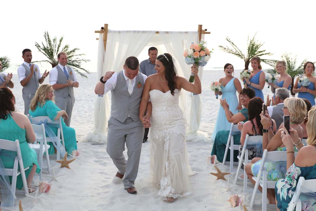 Bodas en la Playa en Florida  Suncoast WeddingsSuncoast