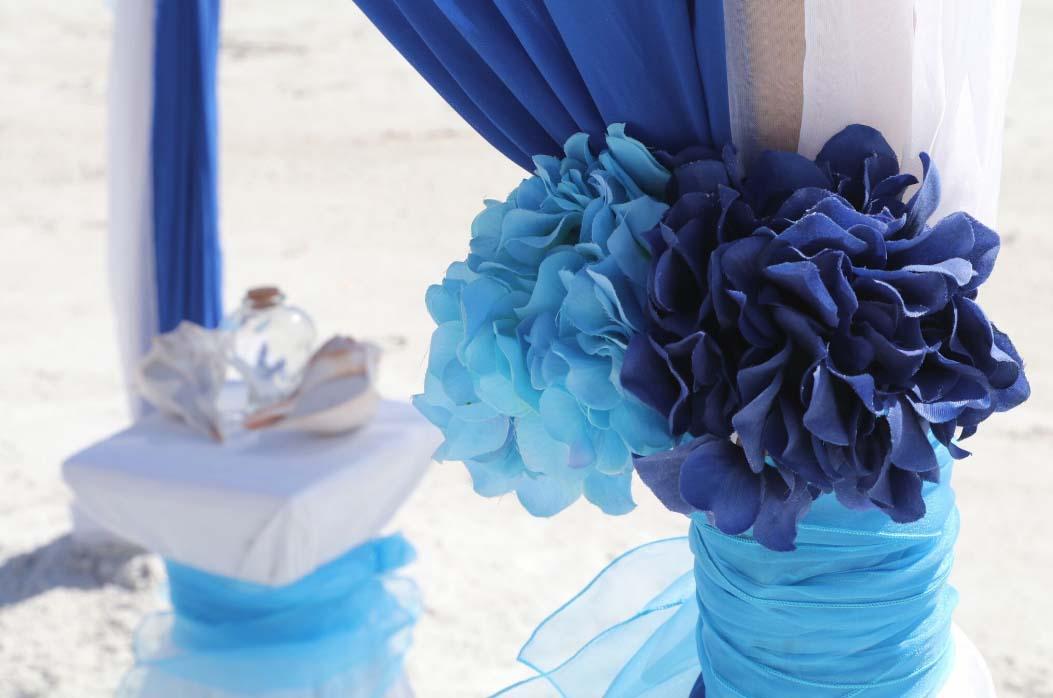 Florida Beach Wedding Arches  Suncoast WeddingsSuncoast Weddings