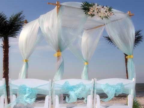 beach wedding chair decoration ideas outdoor french bistro dining chairs florida themes - suncoast weddingssuncoast weddings