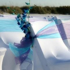 Beach Wedding Chair Decoration Ideas Chairs On Sale At Walmart Florida Suncoast Weddingssuncoast
