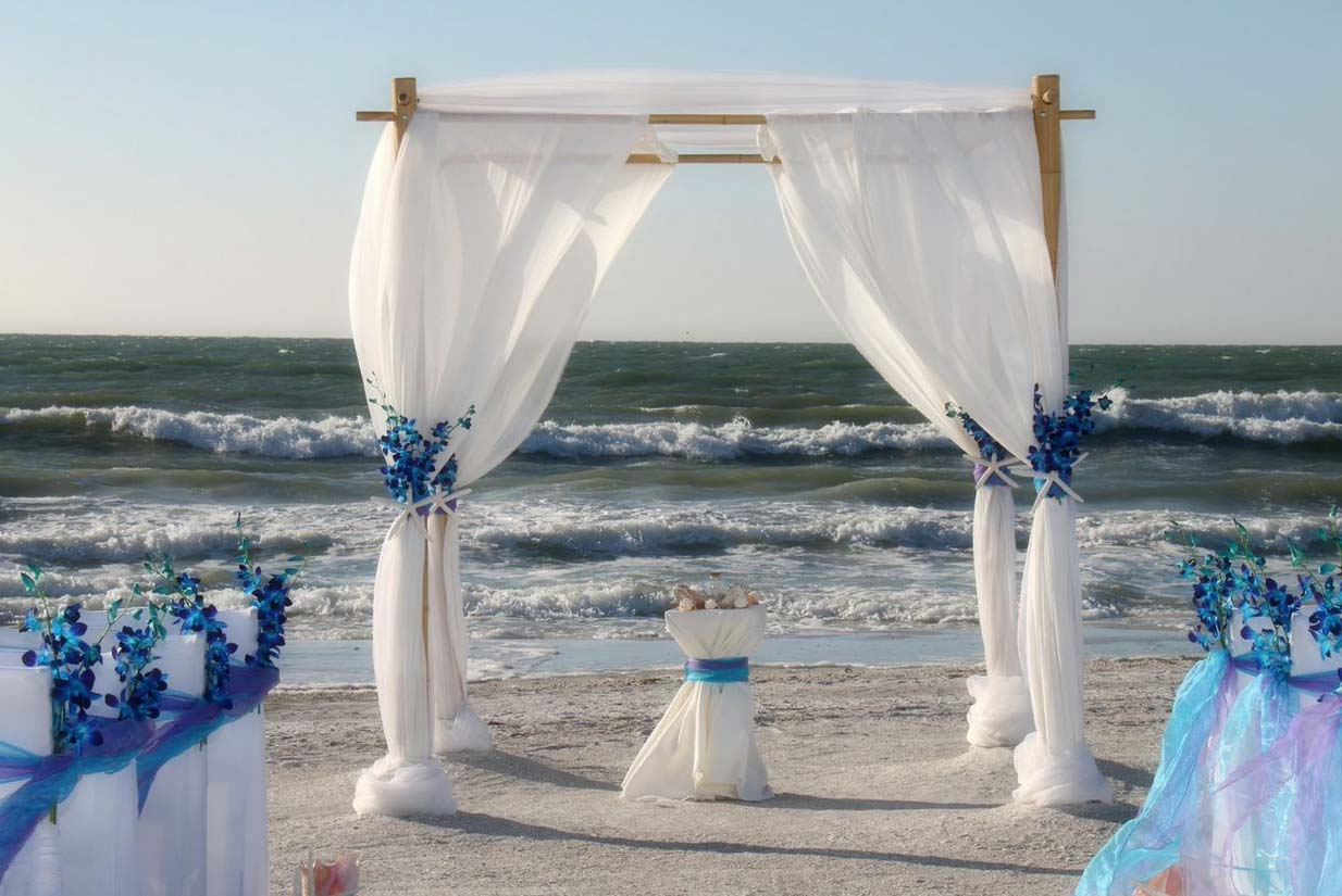 beach wedding chair decoration ideas yellow folding covers florida themes orchids by suncoast