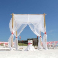 Bamboo Folding Chairs Wedding Study Table And Chair Tropical Package By Suncoast Weddingssuncoast Weddings