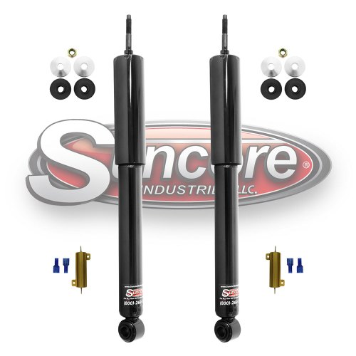 small resolution of electronic suspension to passive gas shock conversion kit rear pair toyota lexus