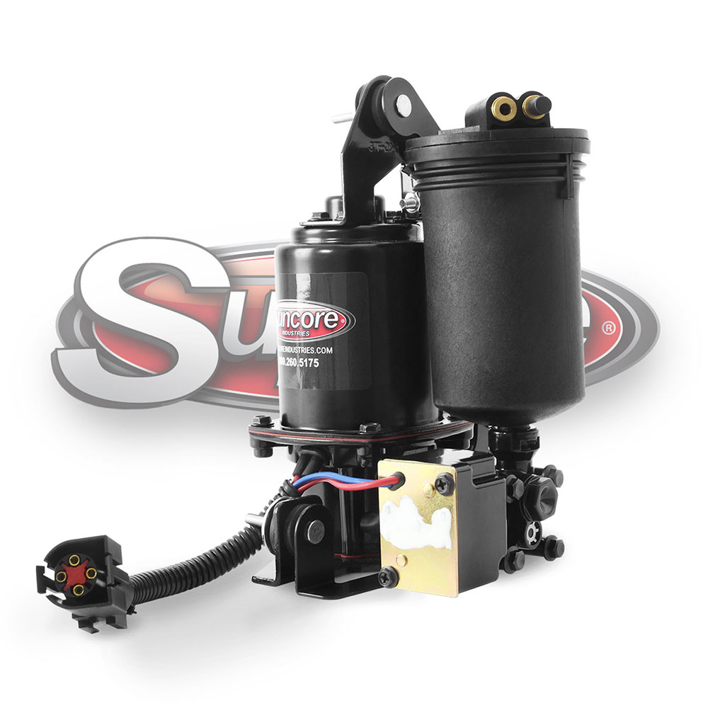 hight resolution of air compressor with dryer crown victoria grand marquis town car
