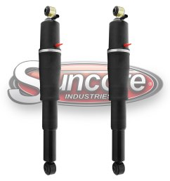 rear air shocks z55 autoride suspension w bypass gmc cadillac chevy [ 1500 x 1500 Pixel ]