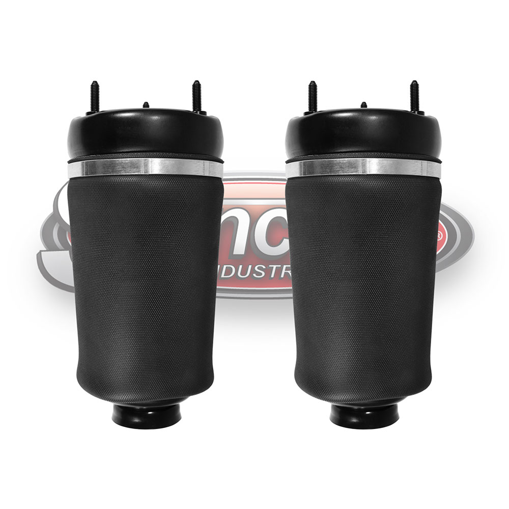 hight resolution of front pair airmatic suspension air springs mercedes benz gl ml class x164 w164