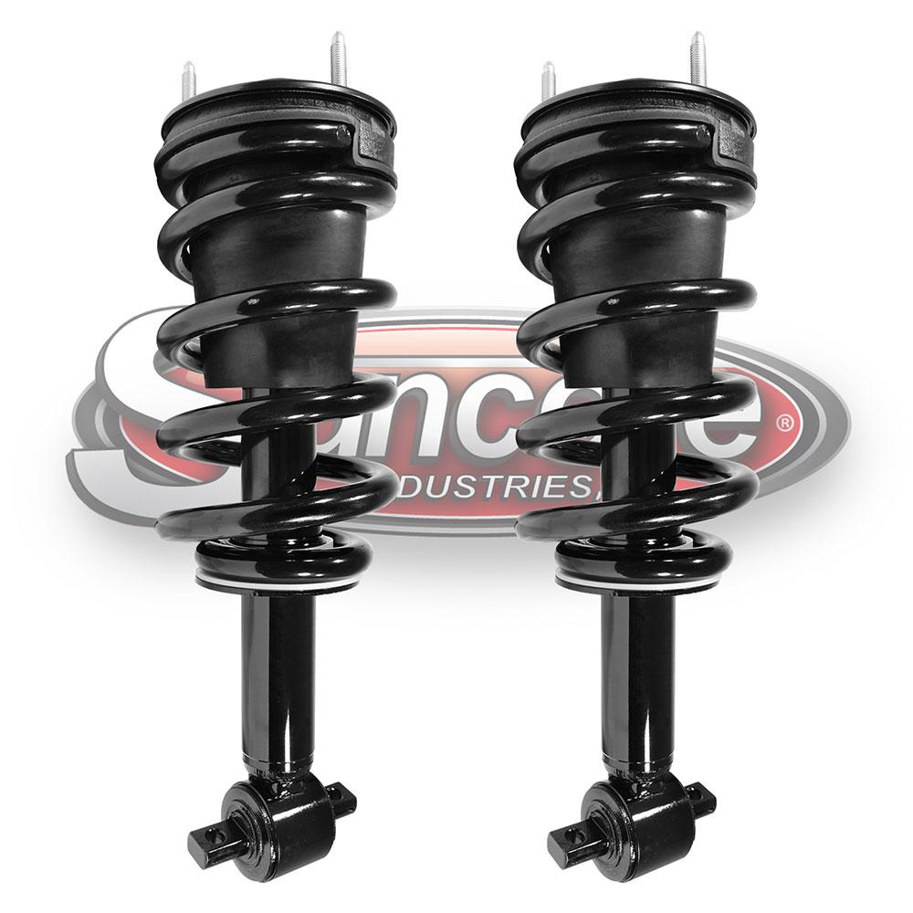 medium resolution of 4wd suspension quick install strut assemblies front pair silverado 1500 sierra 1500