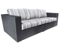 Chorus Deep Seating Wicker Sofa - Patio Furniture at Sun ...
