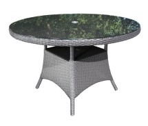 """Solano Wicker 42"""" Dining Table - Patio Furniture"""