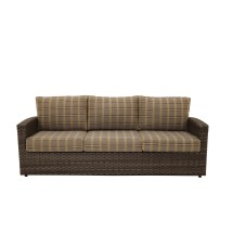 Biscayne Wicker Sofa - Patio Furniture Sun Country