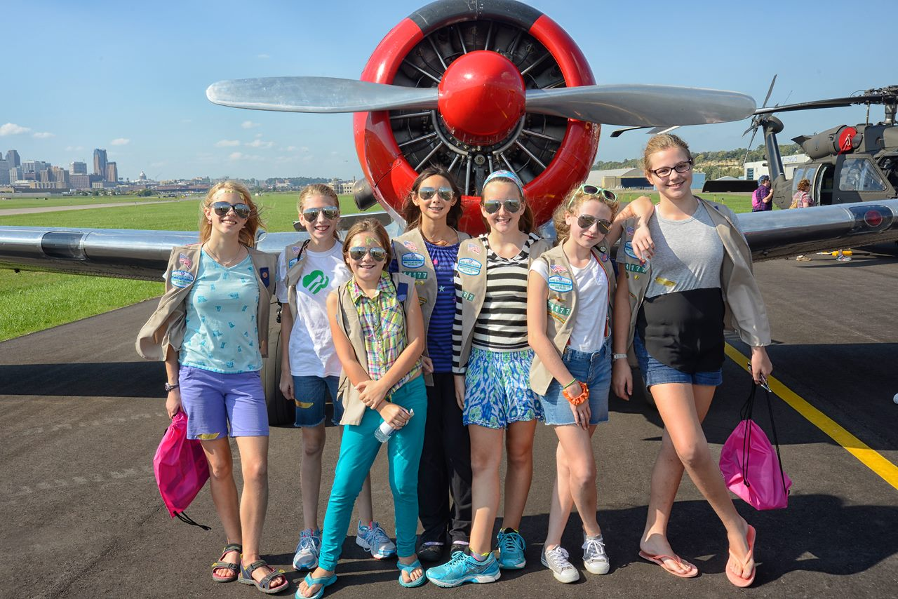 Chasing Dreams: Girls in Aviation Day