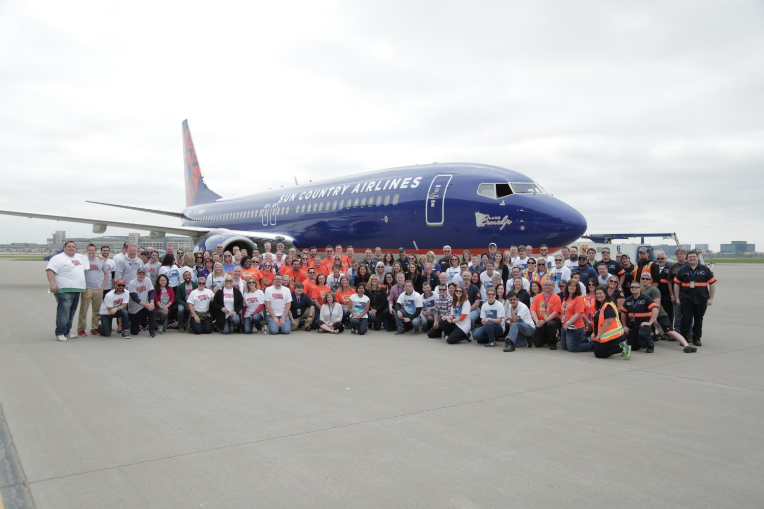 Sun Country Airlines Airplane Pull Benefits American Cancer Society®