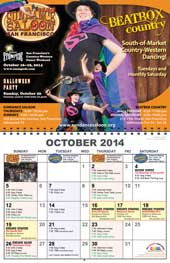 October 2014 poster