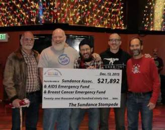Stompede beneficiary check presentation