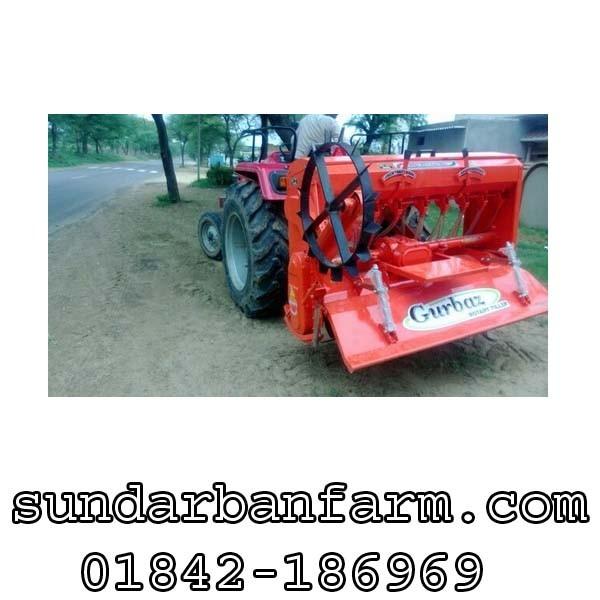Gurbaz Agricultural Rotavator Seeder