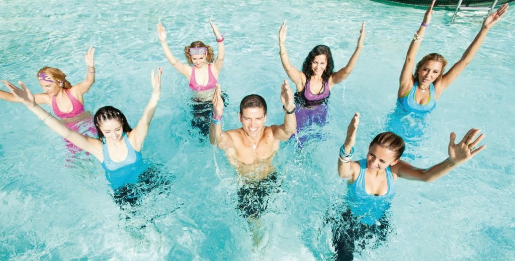 Zumba Monday & Friday | Come join us in the pool and have fun!