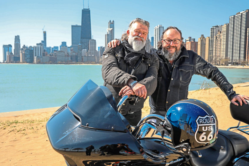 Spicy lentil and kale soup. Hairy Bikers finally get kicks on Route 66 - Sunday Post