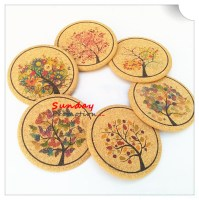 Personalized Cork Coasters Customized Coaster Set Full Color