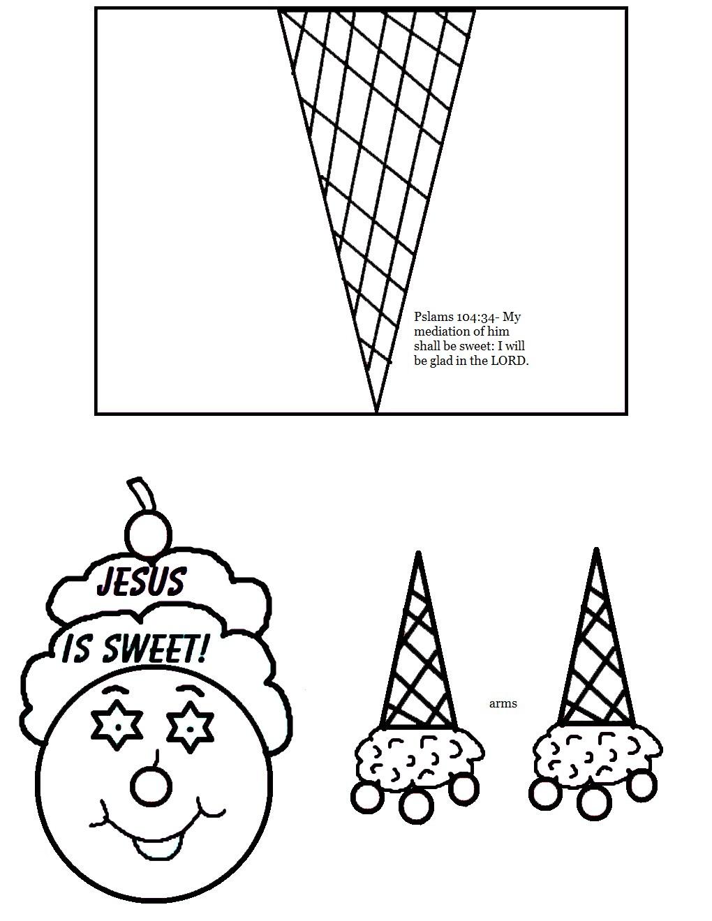 Ice Cream Cone Toilet Paper Roll Craft