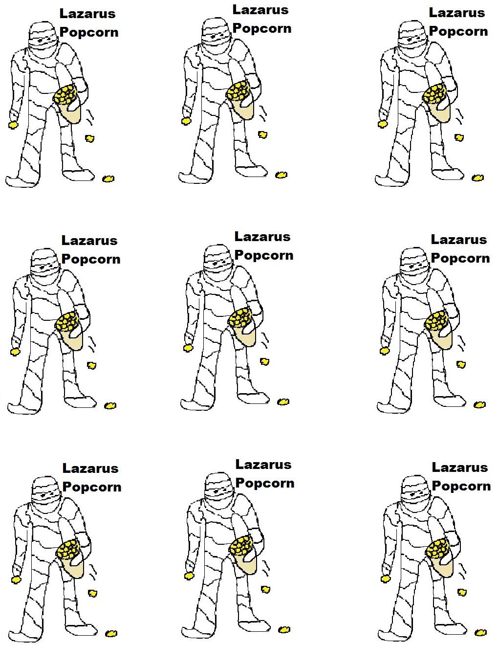 Lazarus Popcorn Holder