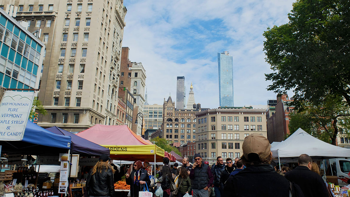 Union-square-jour-de-marche-New-York