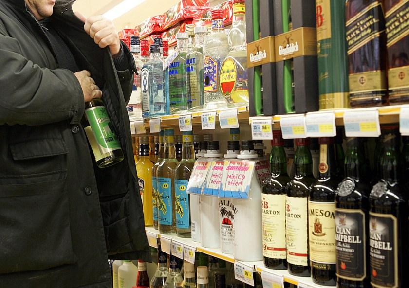 Des bouteilles de whisky volées dans des supermarchés | Sunday Times