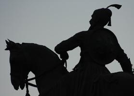 Horse and soldier - Mumbai