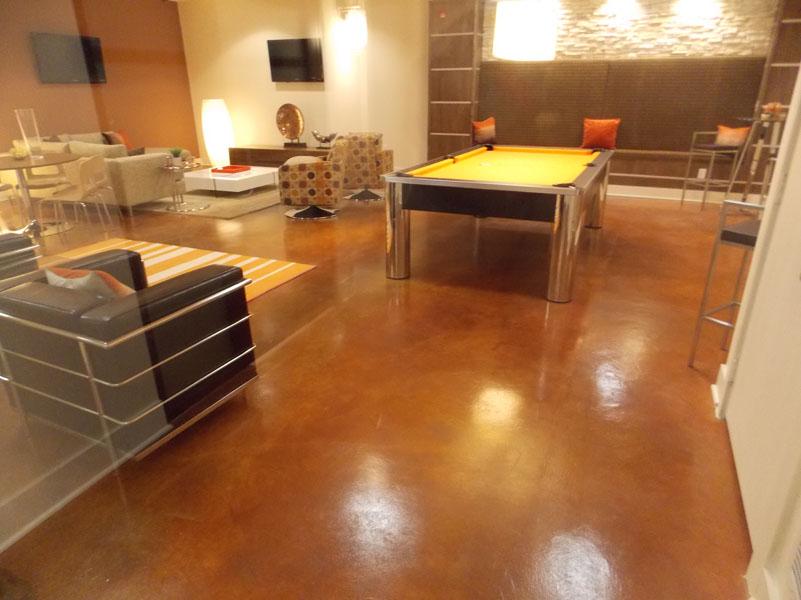 Indoor  Sundek Concrete Coatings and Concrete Repair