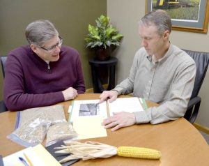 Mark Thompson and Brent Larson - SFM Farm Managers