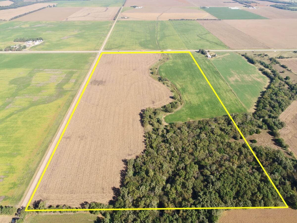 80 Acres Harvey County Kansas Land-Newton