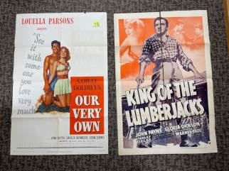 Movie Poster Auction #3 - 105 of 195
