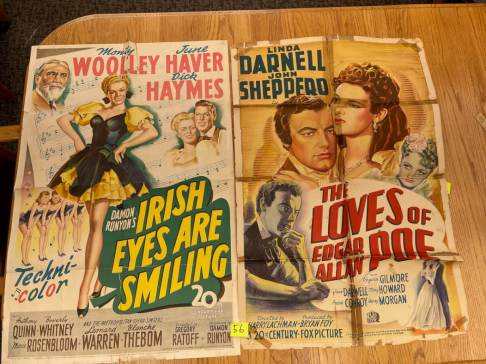 Movie Poster Auction #3 - 113 of 195