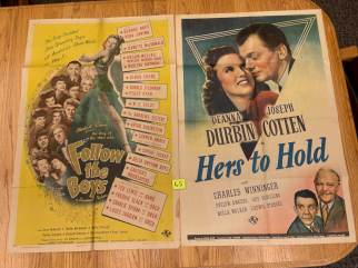 Movie Poster Auction #3 - 122 of 195