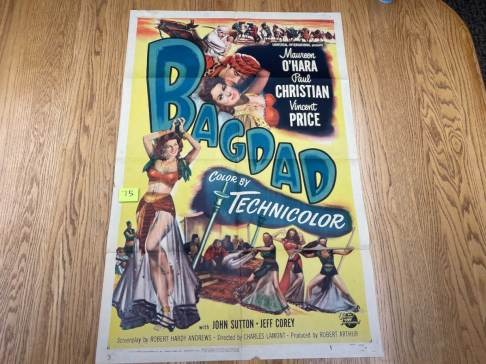 Movie Poster Auction #3 - 135 of 195