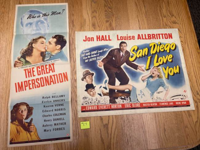 Movie Poster Auction #3 - 137 of 195