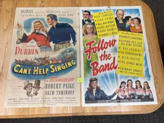 Movie Poster Auction #3 - 141 of 195