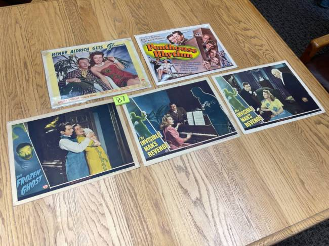 Movie Poster Auction #3 - 148 of 195