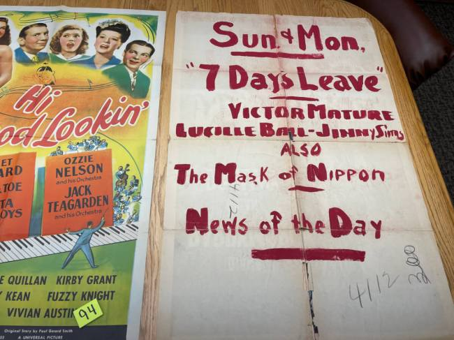Movie Poster Auction #3 - 156 of 195
