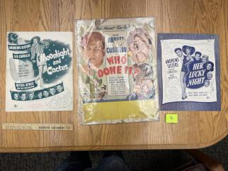 Movie Poster Auction #3 - 7 of 195