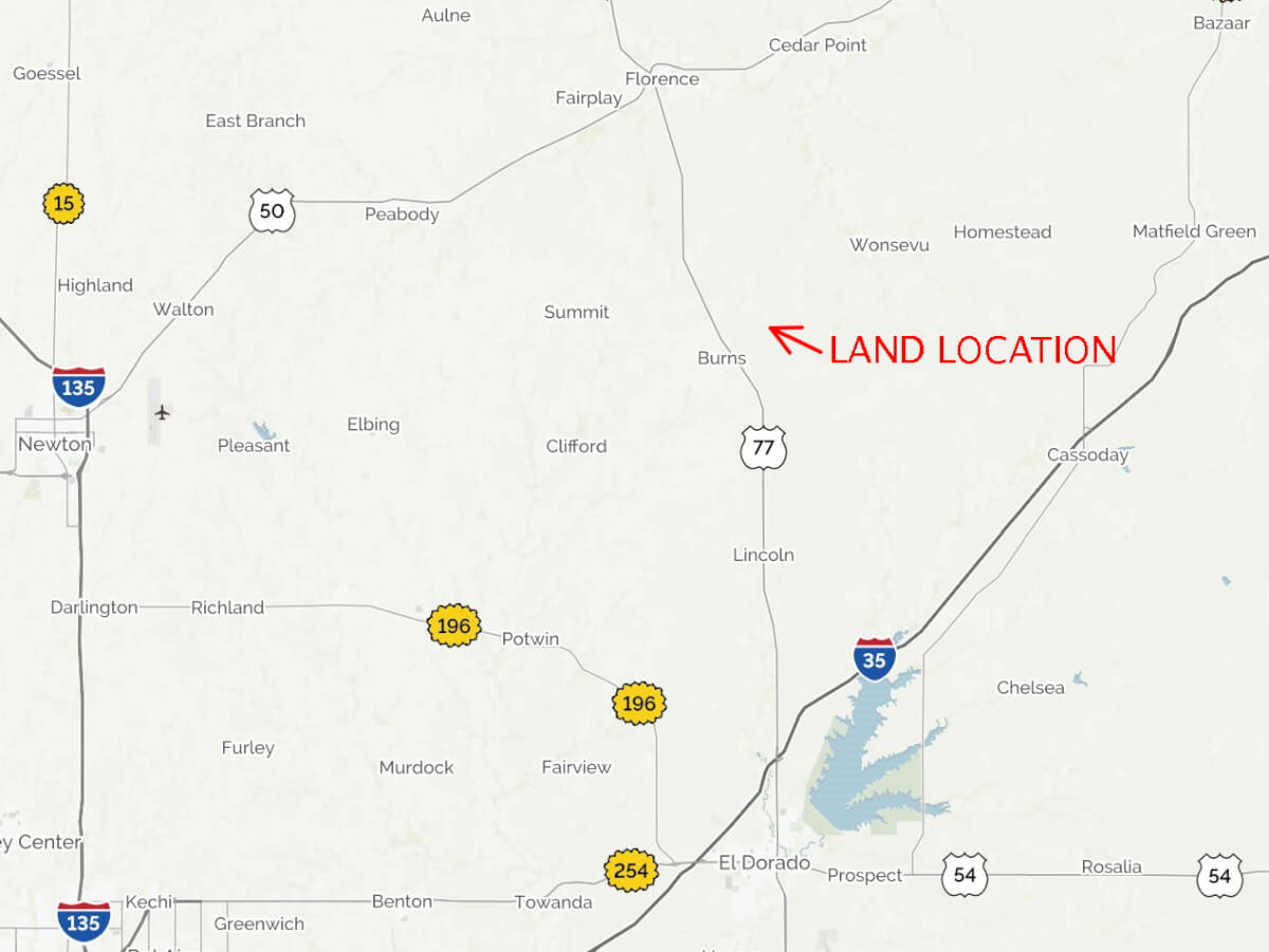 Flint Hills Land For Sale, Marion/Chase County Line