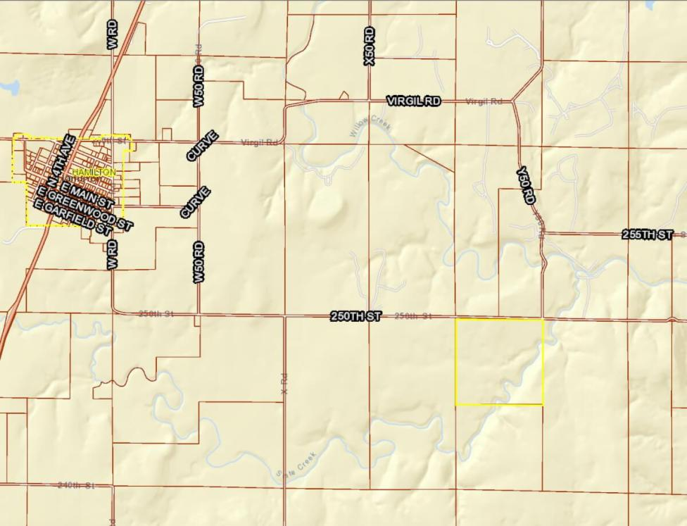 2250 250th Hamilton Kansas Land For Sale
