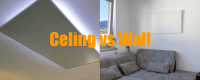 Infrared heating panels: ceiling or wall mounting? | Sundirect