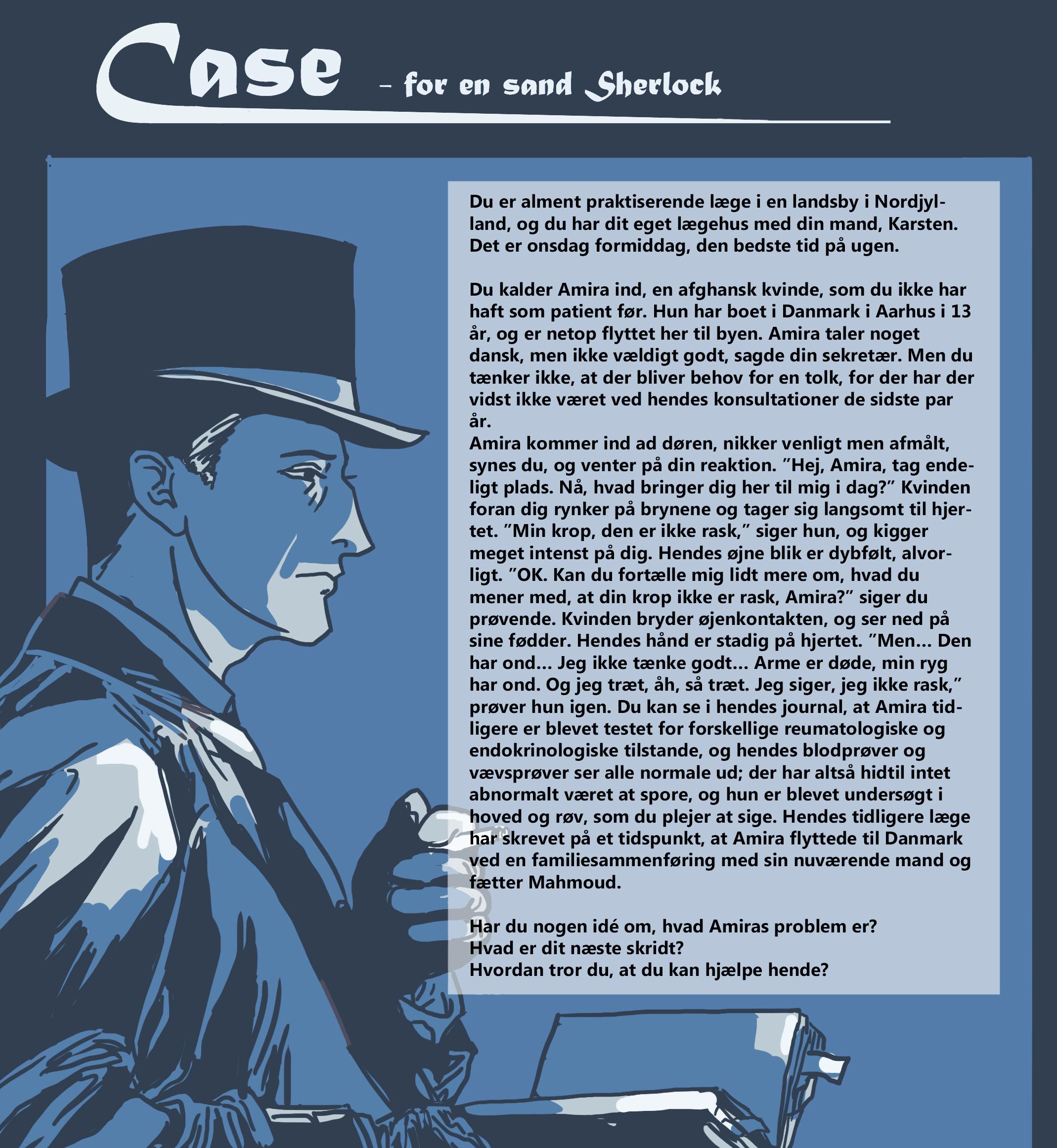 Case – for en sand Sherlock